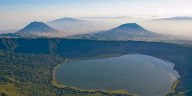 ngorongoro conservation area volcanoes