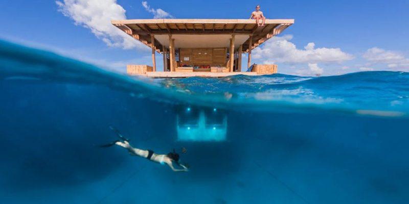 Underwater room - Manta Lodge - Pemba - Zanzibar