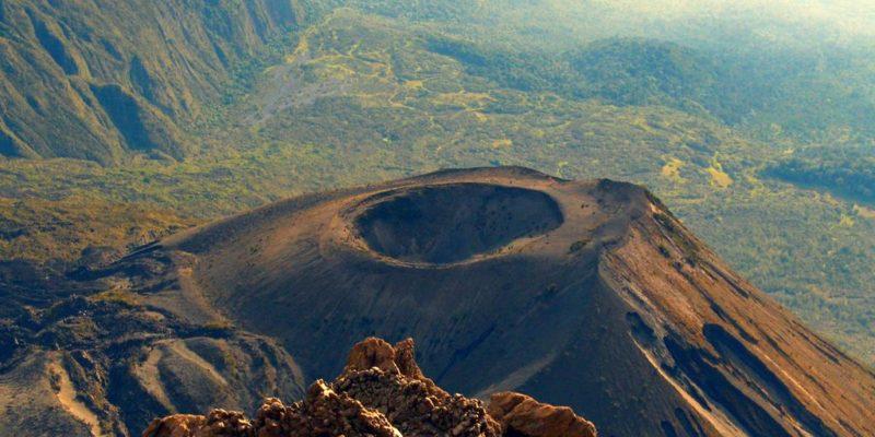 Volcano crater Tanzania